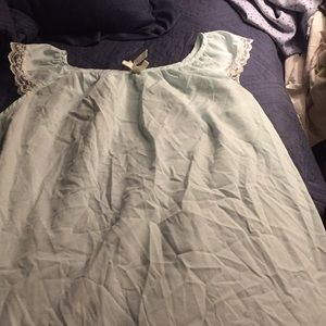 Other - Baby blue vintage nightgown